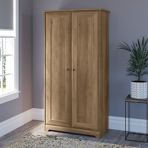 Bush Furniture Cabot Tall Storage Cabinet with Doors