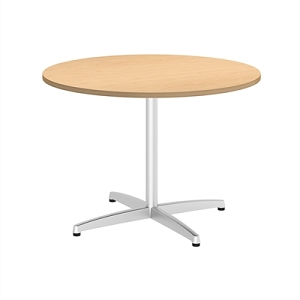 Bush Business Furniture 42W Round Conference Table with Metal X Base #99TBX42RACSVK