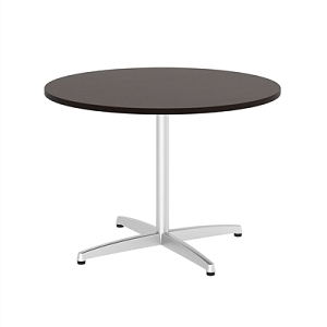 Bush Business Furniture 42W Round Conference Table with Metal X Base #99TBX42RMRSVK