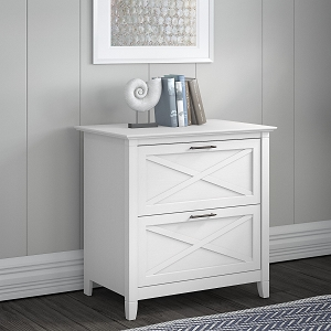 Bush Furniture Key West 2 Drawer Lateral File Cabinet