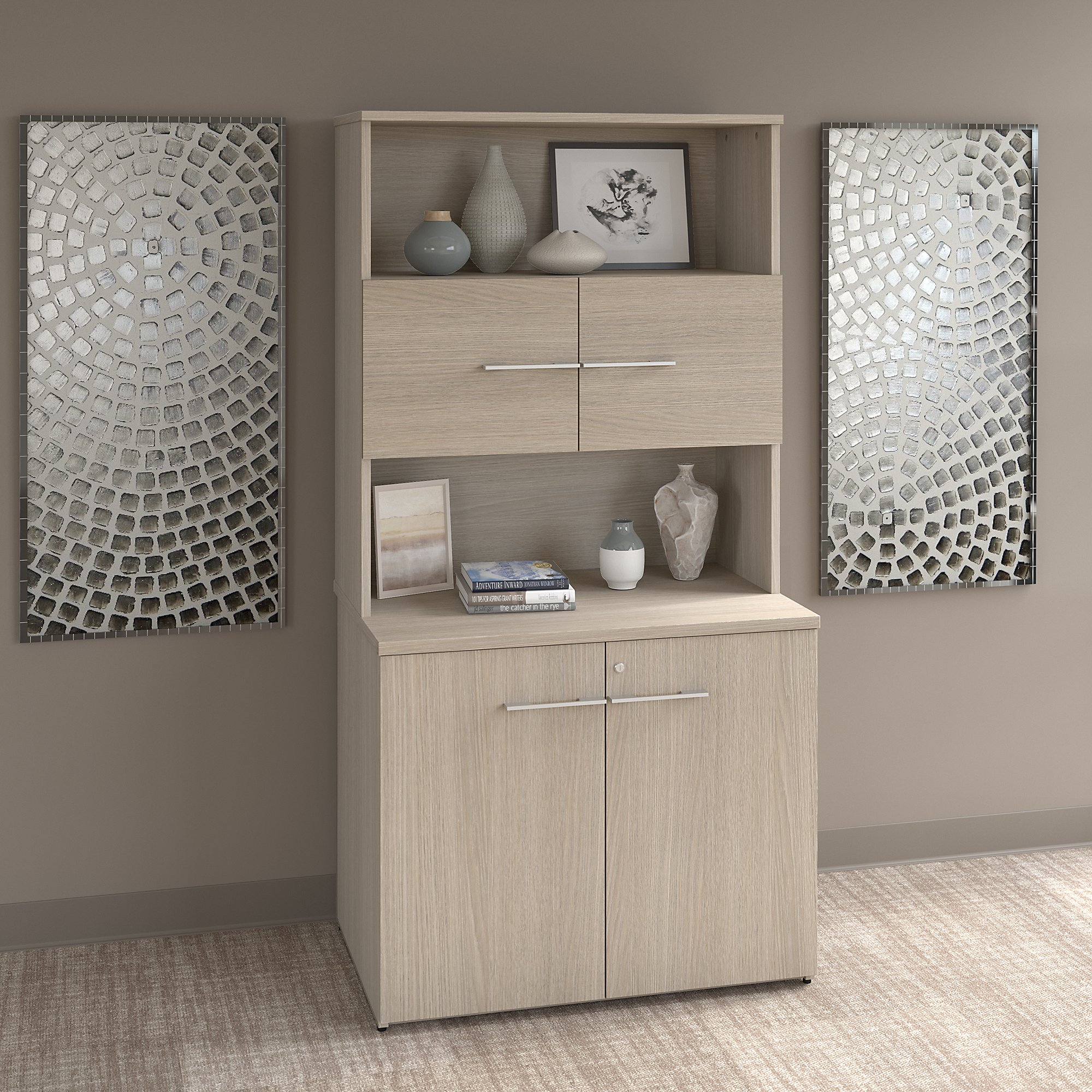 Bush Business Furniture Office 500 36w Tall Storage Cabinet