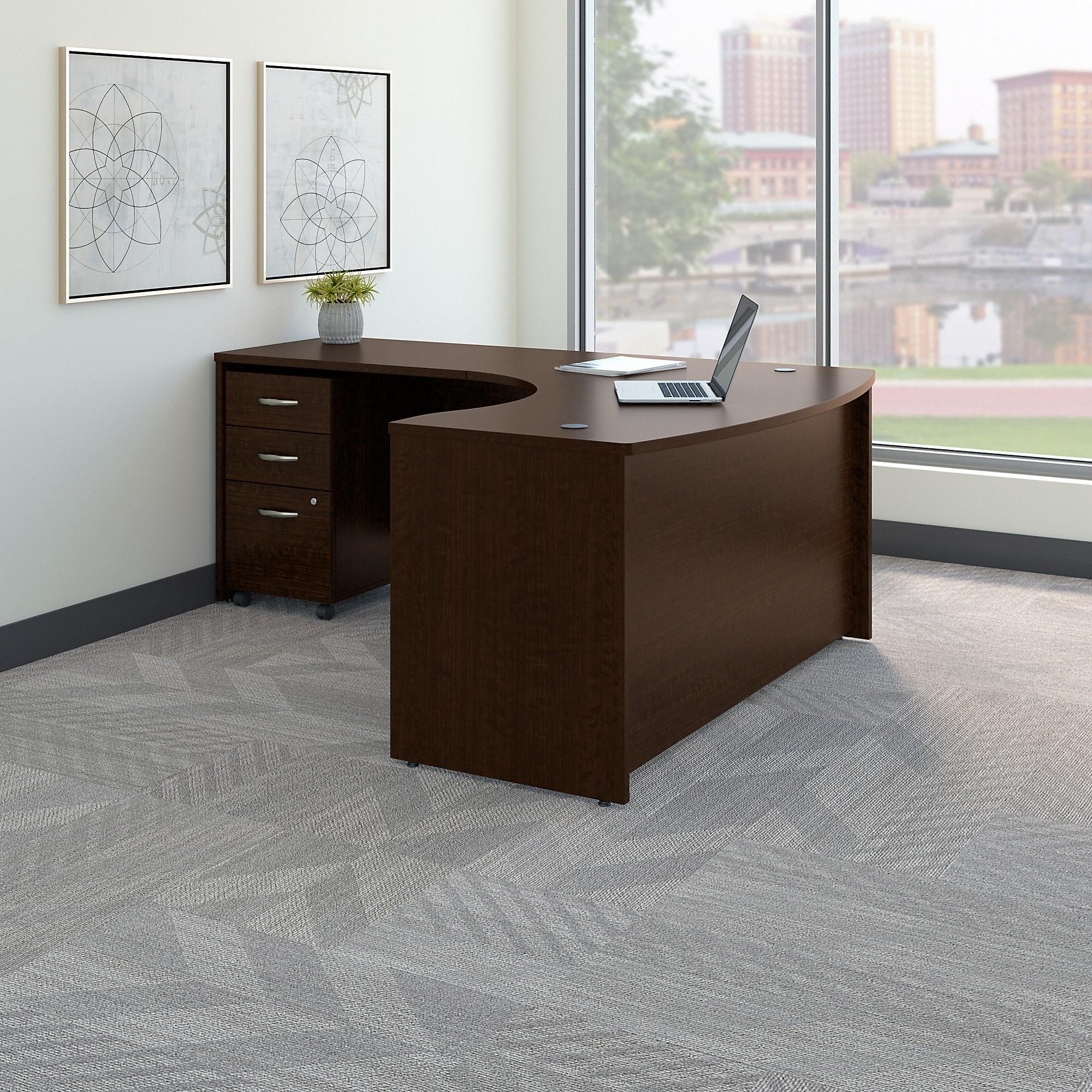 Bush Business Furniture Series C Left Handed L Shaped Desk W