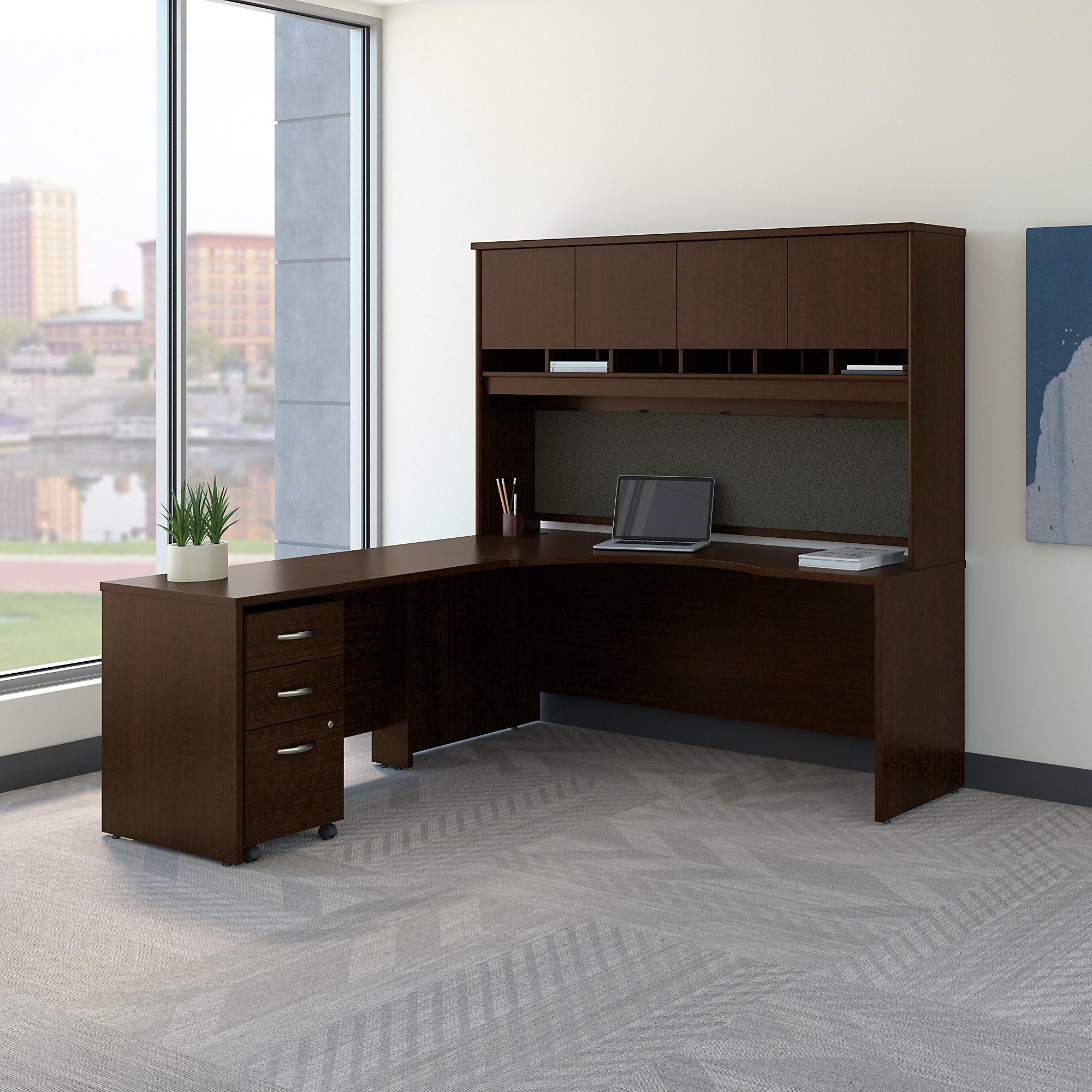 Bush Business Furniture Series C 72w Left Handed Corner Desk