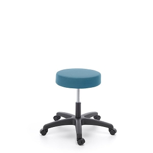 Cramer Fusion Round Stool Desk Height - Hand Activated #RS0D1