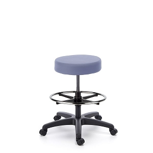 Cramer Fusion ESD Round Stool High Height - Hand Activated #RS0H1-ESD