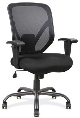 Office Source Becker Series Big and Tall Mesh Task Chair #11701