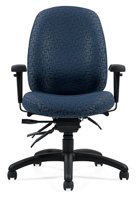 Global Granada Deluxe Medium Back Multi-Tilter Chair #1171-3