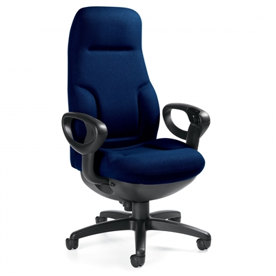 Global Concorde Executive 24HR High Back Synchro Tilter Chair #2424