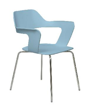 KFI Studios Julep Stack Chair w/ Flex Poly Shell #2500CH