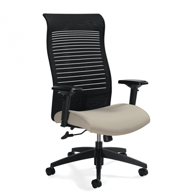 Global Loover Extended High Back Tilter Chair #2660-4