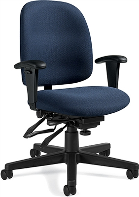 Global Granada Low Back Multi-Tilter Chair #3212