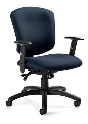 Global Supra X Medium Back Multi-Tilter Chair #5336-3