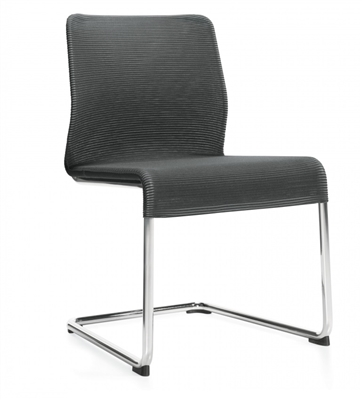 Global Lite Armless Mesh Cantilever Frame Chair #5943