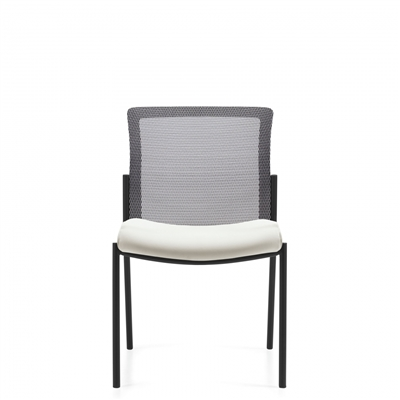 Global Vion Mesh Back Armless Guest Chair #6324