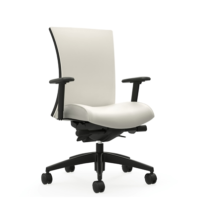 Global Vion Upholstered High Back Synchro Tilter Chair w/Back Angle Adjustment #6331-0