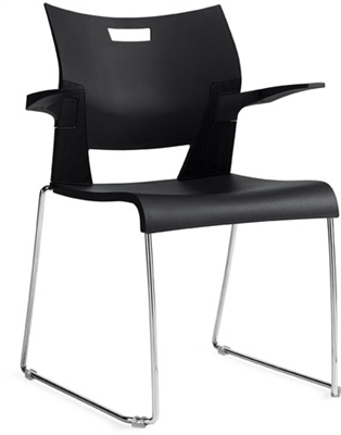 Global Duet Chair With Arms #6620