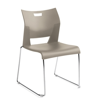 Global Duet Armless Chair #6621