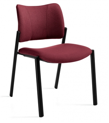Global Zoma Armless Guest Chair #6657