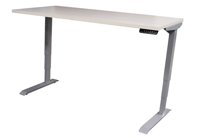Open Plan Adjustable Height Tables