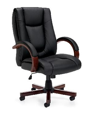 OTG Management Seating Luxhide Executive Chair #OTG11300B