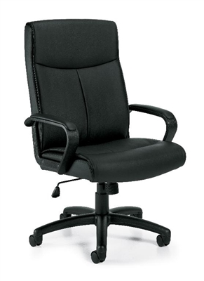 OTG Luxhide Manager's Chair #OTG11782B