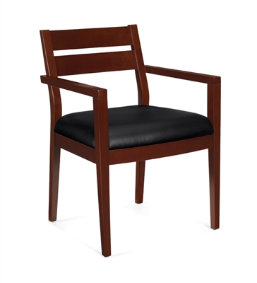 OTG Wood Guest Chair With Arms #OTG11820B-CX