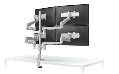 ESI Evolve Four Monitor Arms - EVOLVE4-FMS