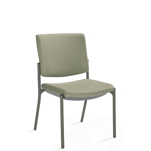 Global Care Frolick Stacking Armless Chair With Concealed Back #GC3002