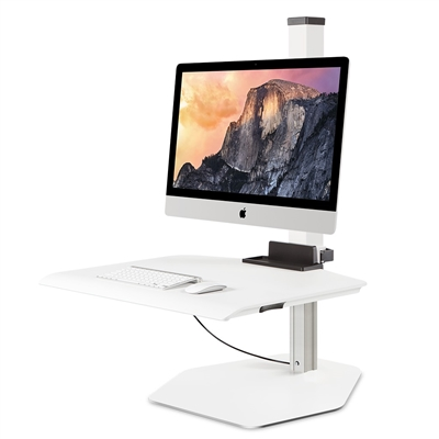 Innovative Winston Sit-Stand Workstation Single Monitor Mount For Apple iMac #WNST-APL-1