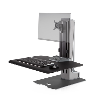 Innovative Winston-E Sit-Stand Workstation Single Monitor Mount #WNSTE-1-270