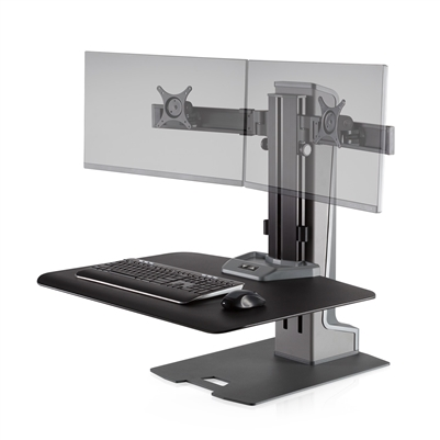 Innovative Winston-E Sit-Stand Workstation Dual Monitor Mount #WNSTE-2-270
