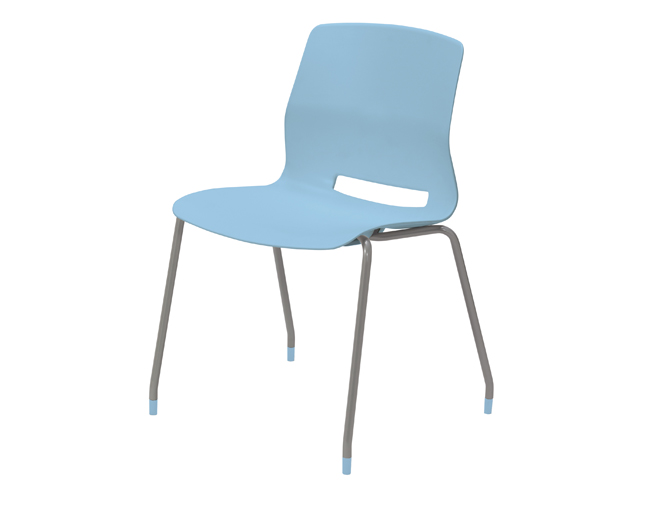 KFI Studios Imme Armless Stack Chair w/Poly Seat and Back #2700