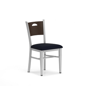 Lesro Concord Series Cafe Chair With Fabric Seat #CD1201G5