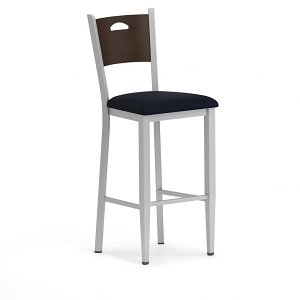 Lesro Concord Series Cafe Stool With Fabric Seat #CD1291G9