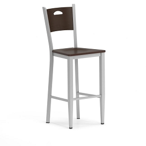 Lesro Concord Series Cafe Stool With Wood Seat #CD1292G9
