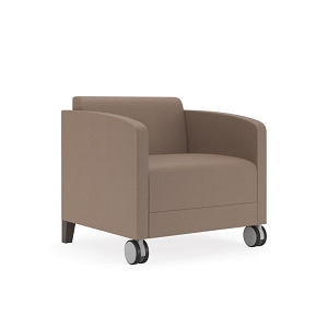 Lesro Fremont Series Guest Chair w/Casters #FT1401C8