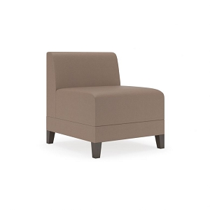 Lesro Fremont Series Guest Chair Armless #FT1402G8