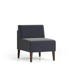 Lesro Luxe Series Guest Chair Armless #LX1402G5