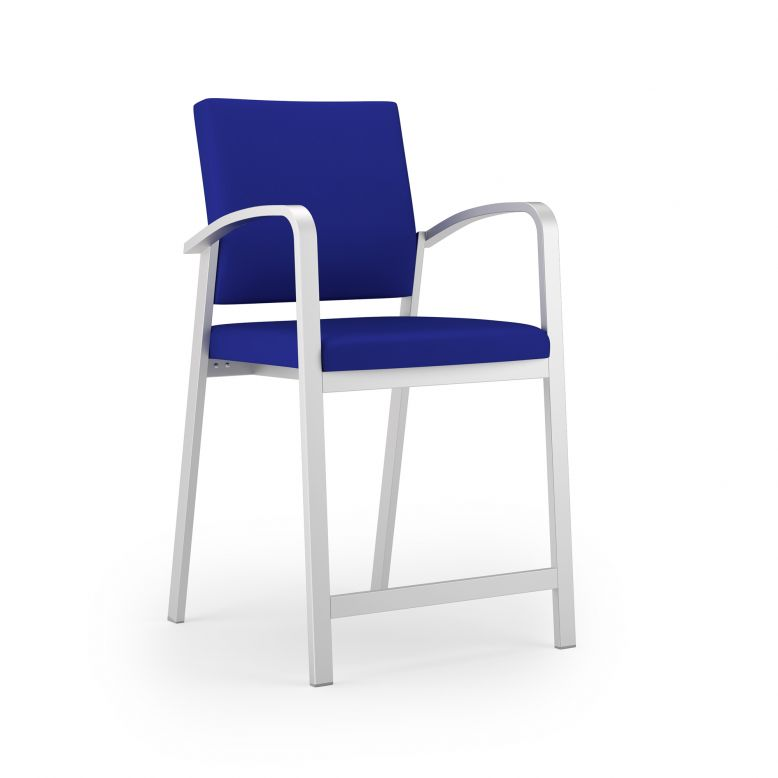 Lesro Newport Series Guest Hip Chair #NP1491G5