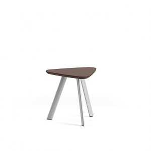 Lesro Willow Series Solid Surface End Table #WL1288T7