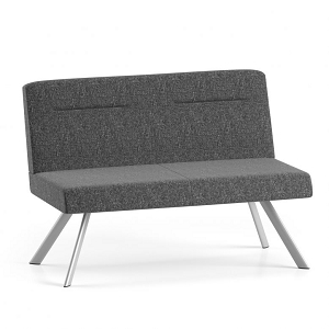 Lesro Willow Series Armless Loveseat #WL1502G5