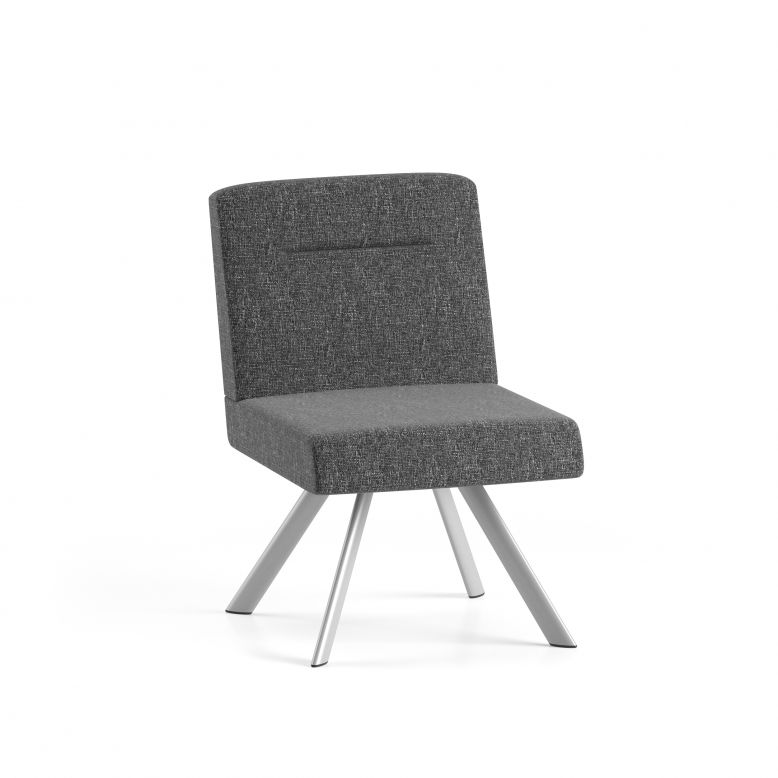 Lesro Willow Series Armless Guest Chair #WL1402G5