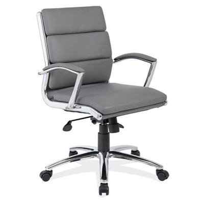 Office Source Merak Series Executive Mid Back Chair #1505CHM