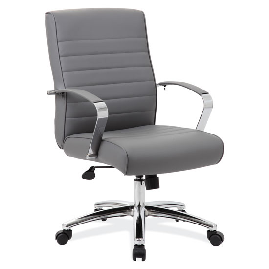 Office Source Studio Series Executive Mid Back Chair #696
