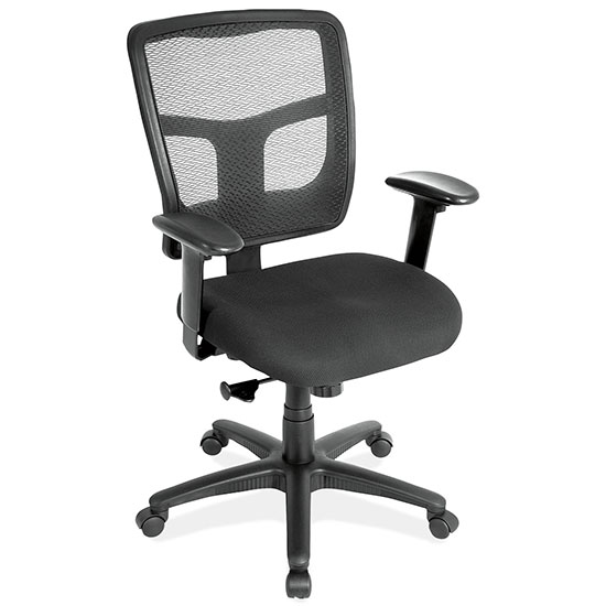 Office Source Mesh Back Basic Task Chair #7621AABLK