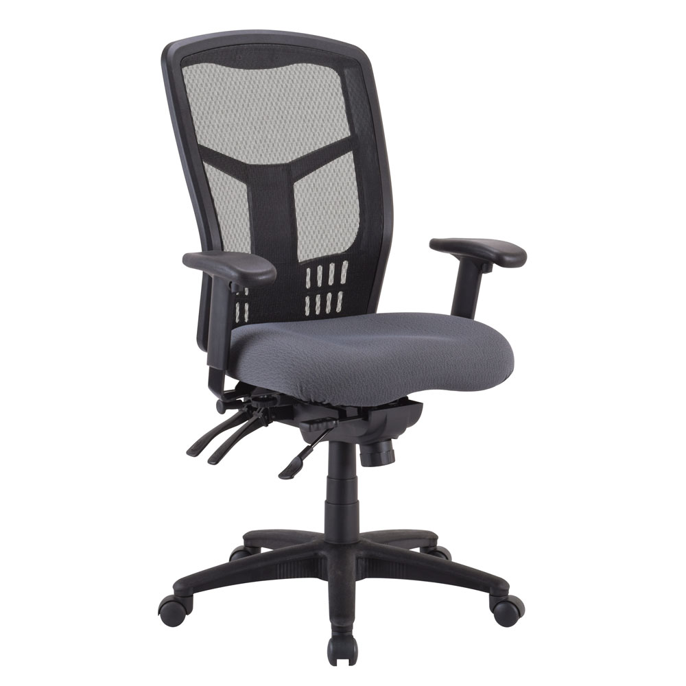 Office Source Coolmesh Multi-Function High Back Chair #7704ASNS