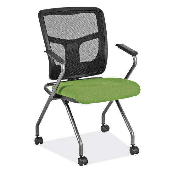 Office Source CoolMesh Mesh Back Nesting Chair #7794TNS