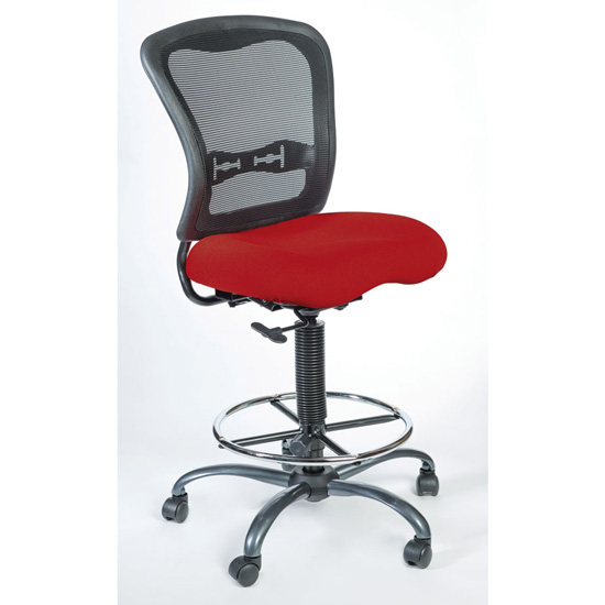 Office Source Spice Mesh Back Task Stool #7851NS