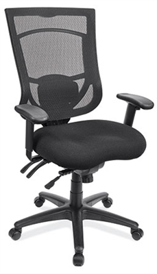 Office Source CoolMesh Pro Series Multi-Function High Back Mesh Chair #8014ASNS