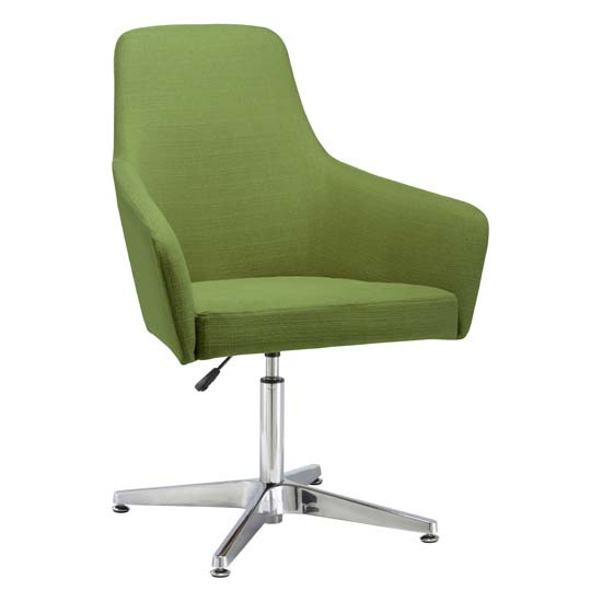 Office Source Elroy Chair With Seat Adjustment and Chrome Base 6491